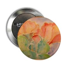 """Cactus! Colorful southwest art! 2.25"""" Button"""
