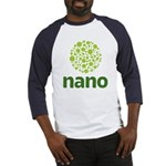 light green molecule stacked on dark green nano Ba