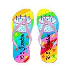 DELIGHTFUL 75TH Flip Flops