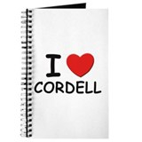I love Cordell Journal