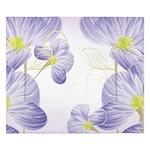 Lavender Sweet Peas Floral King Duvet