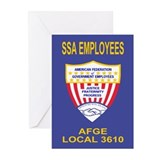 AFGE 3610 Greeting Cards (Pk of 10)