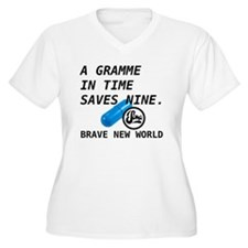 Brave New World - Gramme in Time Plus Size T-Shirt