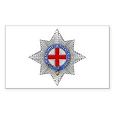 Garter (England) Rectangle Decal