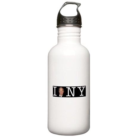 I Bloomberg NY Bumper Stickers Water Bottle