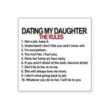 Dads against daughters dating rules