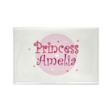 Amelia Rectangle Magnet