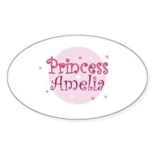 Amelia Oval Decal