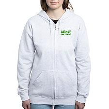 army-girlfriend-clean-green Zip Hoodie