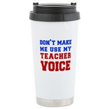 teachers-voice-fresh Travel Mug