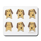 One of These Dachshunds! Mousepad