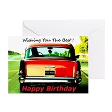 Wishing You The Best Birthday Greeting Card
