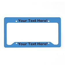 Custom Licence Plate Frames Custom License Plate Covers