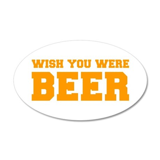 wish-you-were-beer-fresh-orange Wall Decal