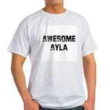 Awesome Ayla Ash Grey T-Shirt