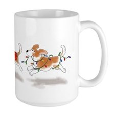 Holiday Beagle Mug