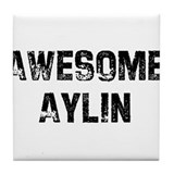 Awesome Aylin Tile Coaster