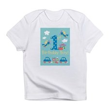 Cute First birthday girls Infant T-Shirt