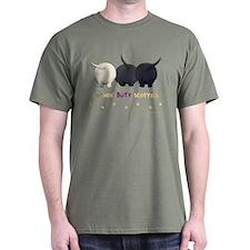 Nothin' Butt Scotties Green T-Shirt