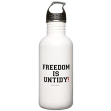 FREEDOM IS UNTIDY - DONALD RUMSFELD Sports Water B