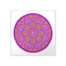 purple mandala Sticker