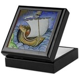 Brendan the Navigator Keepsake Box
