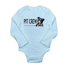 Pit Crew Long Sleeve Infant Bodysuit