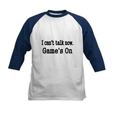 I CANT TALK NOW Baseball Jersey