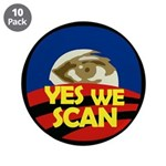Yes We Scan Obama Eye (10 pack of buttons)