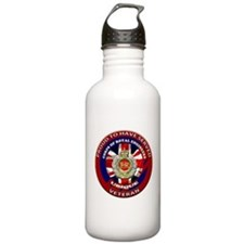 proud to be a royal engineer veteran Water Bottle