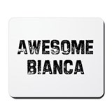 Awesome Bianca Mousepad
