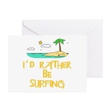 I'd rather be surfing Greeting Cards (Pk of 10