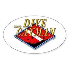 Dive Grand Cayman Oval Decal