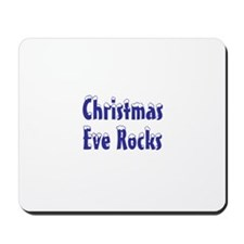 Christmas Eve rocks Mousepad