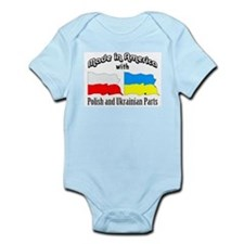 Polish & Ukrainian Parts Infant Bodysuit
