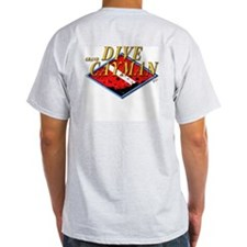 Dive Grand Cayman (BK) Ash Grey T-Shirt