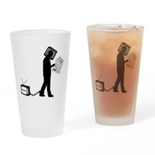 Anti-media Drinking Glass