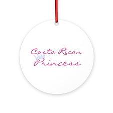Costa Rican Ornament (Round)