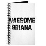 Awesome Briana Journal