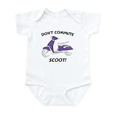 Don't Commute (Purple) Infant Bodysuit