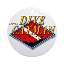 Dive Little Cayman Ornament (Round)