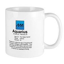 Astrology Mug: Aquarius