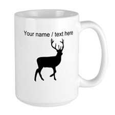 Personalized Black Elk Silhouette Mug