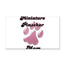 MiniPinscherMomblkpnk.png Rectangle Car Magnet