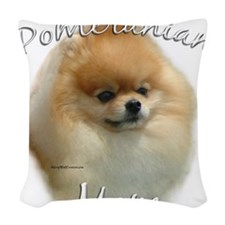 PomMom.png Woven Throw Pillow