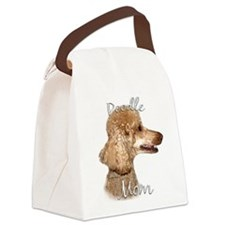 PoodleapricotMom.png Canvas Lunch Bag