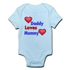 DADDY LOVES MOMMY Body Suit