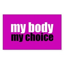 Pro Choice Pink Decal
