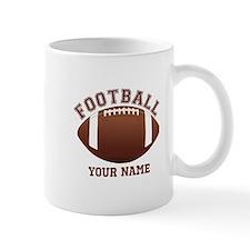 Personalized Name Footbal Small Mugs