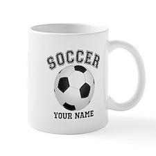Personalized Name Soccer Mug